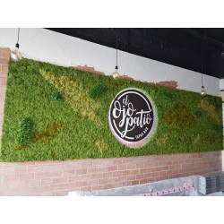 jardin Vertical Planta Artificial
