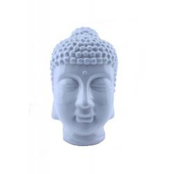 Cabeza Buda Blanca Mediana