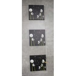 Lienzo 30 x 30  2 cm Flores